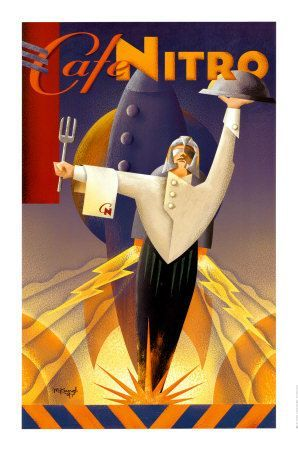 Cafe Poster Baik Art Deco Posters Art Deco Cafe Nitro Contents All Things Deco