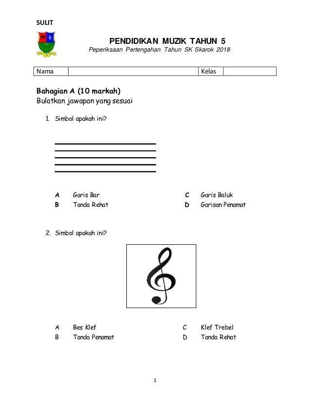 Contoh Teka Teki 3 soalan 1 Jawapan Yang Baik Untuk Guru-guru