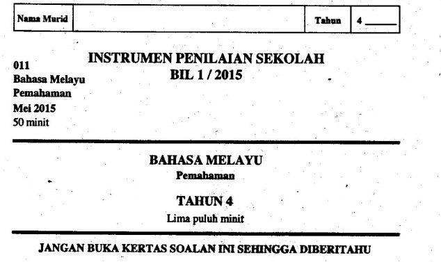 Contoh Teka-teki Bahasa Melayu Yang Meletup Untuk Guru-guru