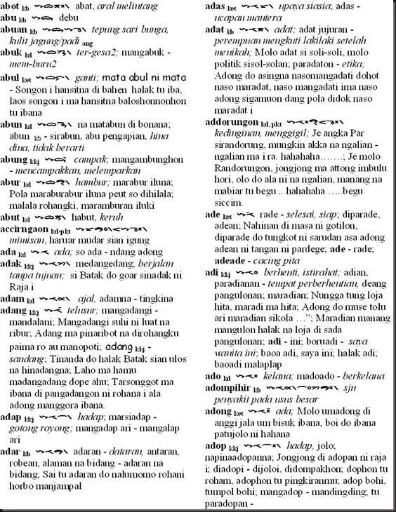 sumber http tanobatak com 2011 05 26 aksara dan bahasa batak 1