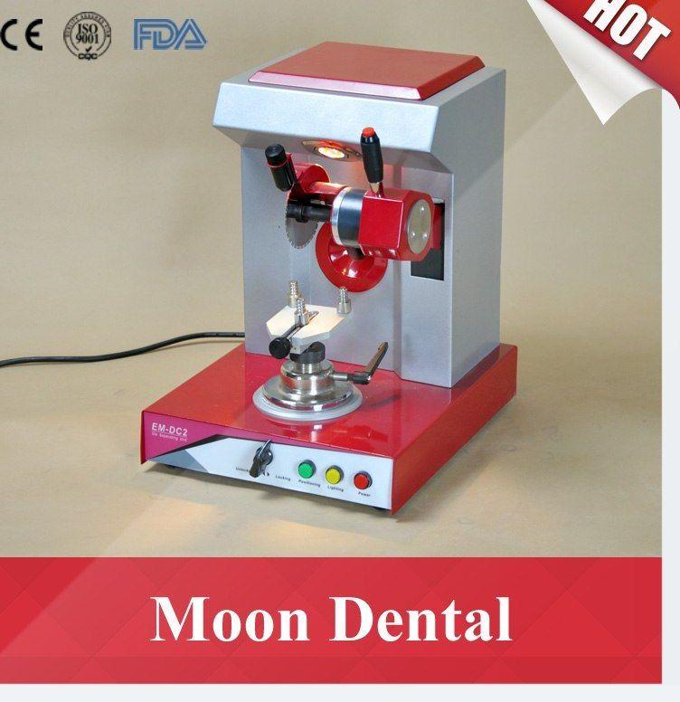 peralatan laboratorium gigi machine em dc2 die memisahkan unit dengan built in sistem pencahayaan untuk memotong gigi model di laboratorium gigi