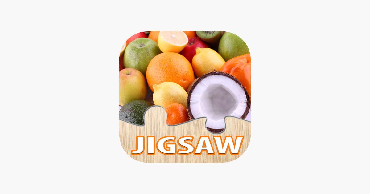 makanan teka teki untuk dewasa buah jigsaw di app store