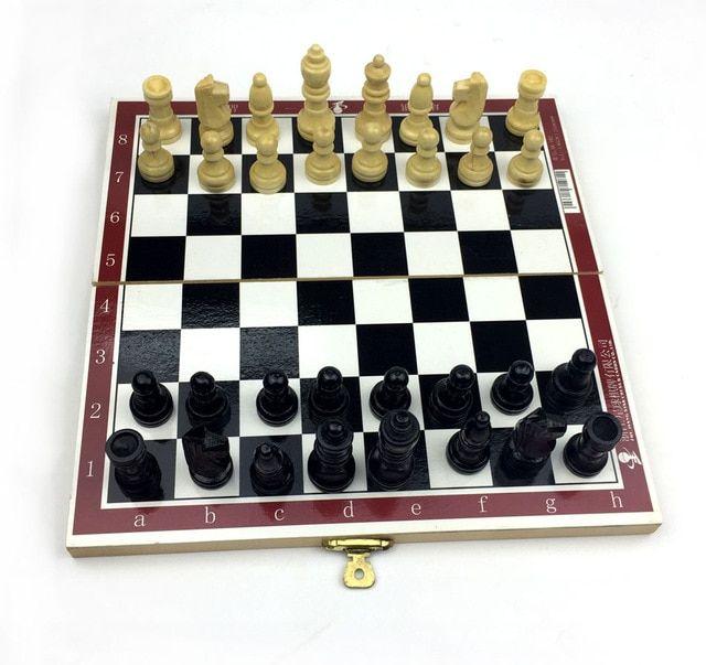 teka teki lucu ukuran kecil catur internasional permainan papan untuk anak anak remaja