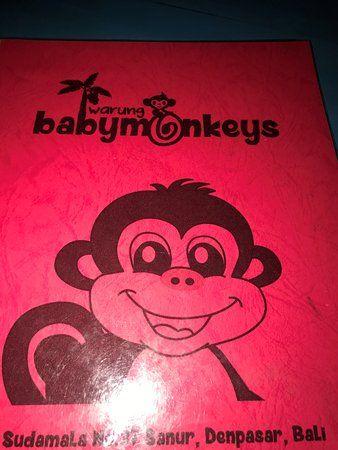 warung baby monkeys menu