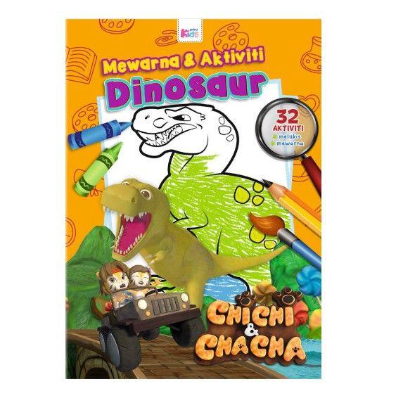Didi and Friend Mewarna Meletup Chici Chacha Mewarna Aktiviti Dinosour Shopee Malaysia