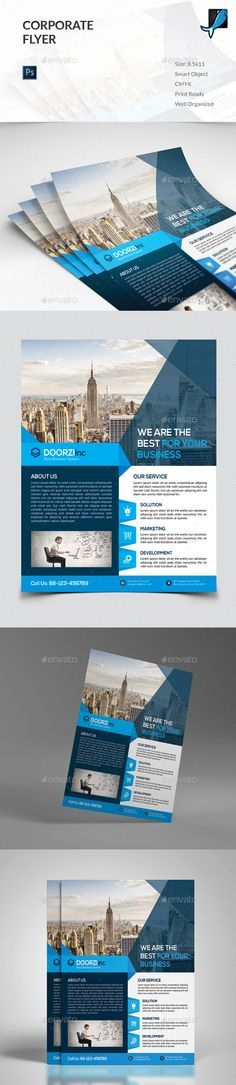 corporate flyer template psd design download http graphicriver net