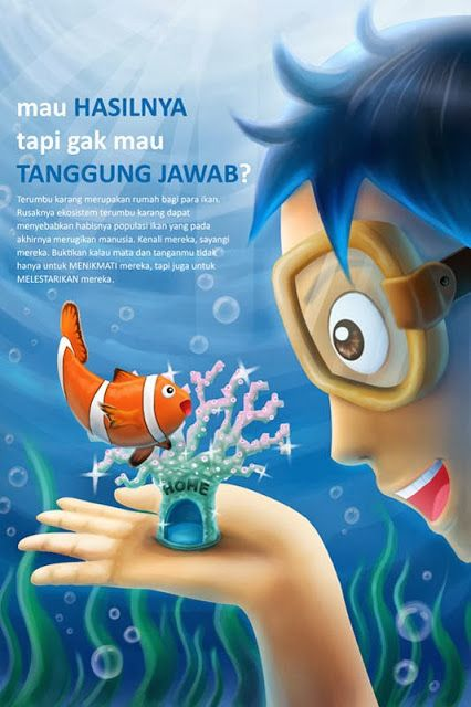 Gambar Poster Lingkungan Hidup Berguna Wahyu Dwi Aprianto Desain Poster