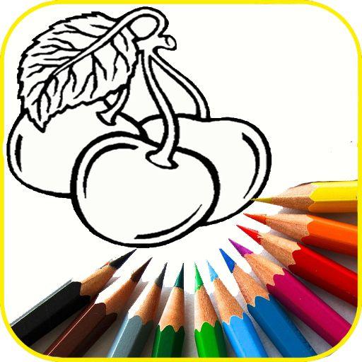game mewarnai buah dan sayuran screenshot 1
