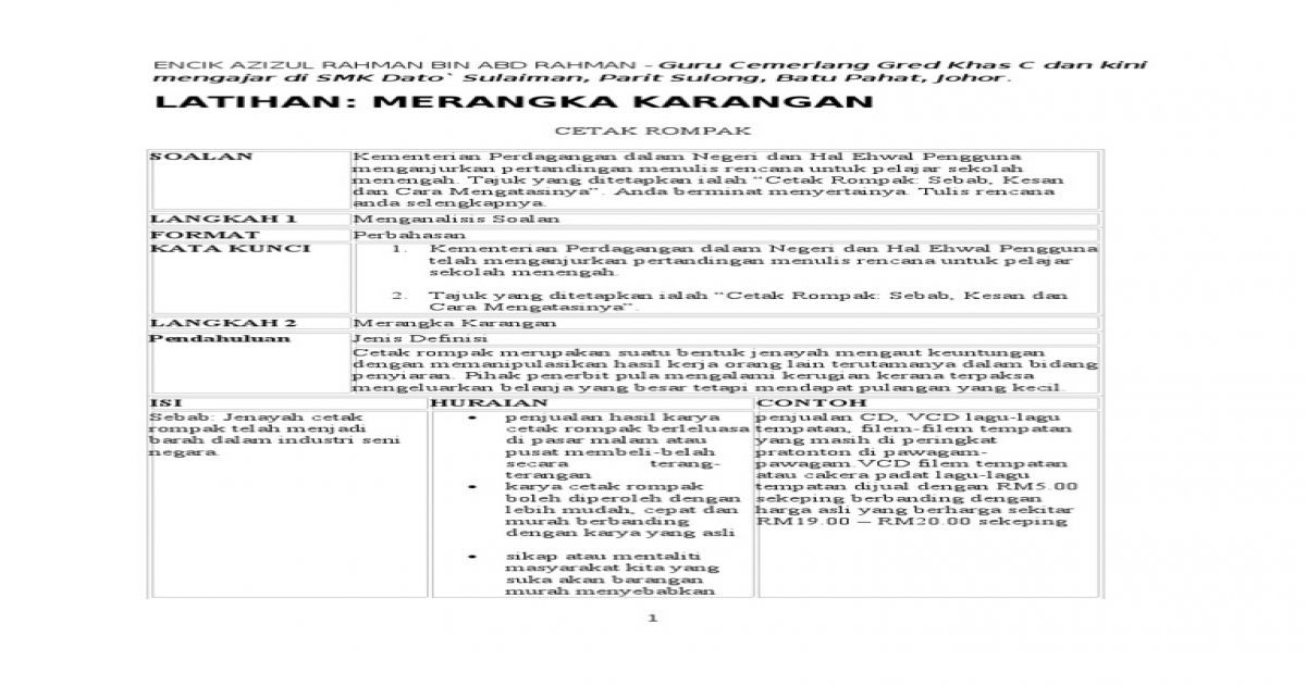 Game Teka Silang Kata Bahasa Melayu Power Tengku Aflah Raisya Tengku Rizman Skoloh Page 8