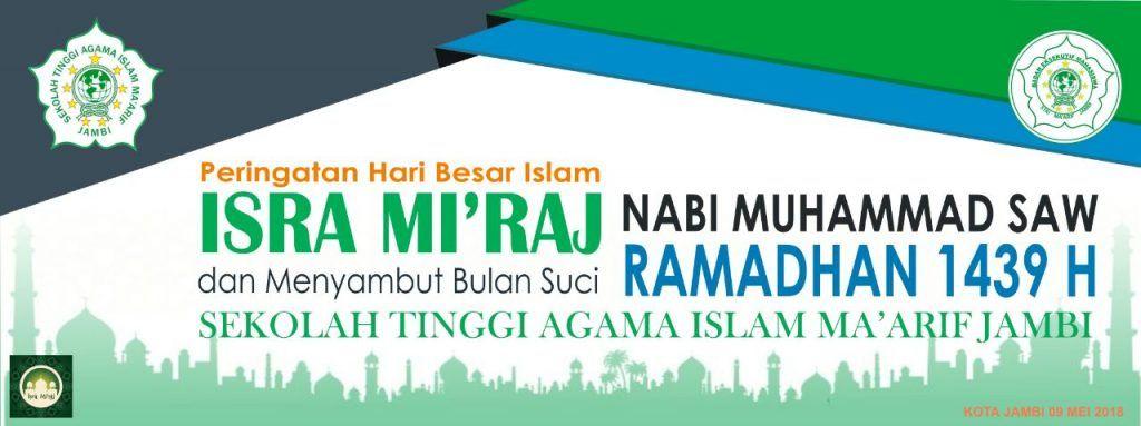memperingati isra mi raj nabi besar muhammad saw 1439