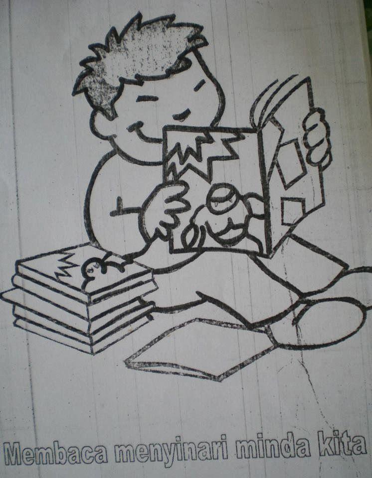 kertas mewarna kem membaca 1 malaysia