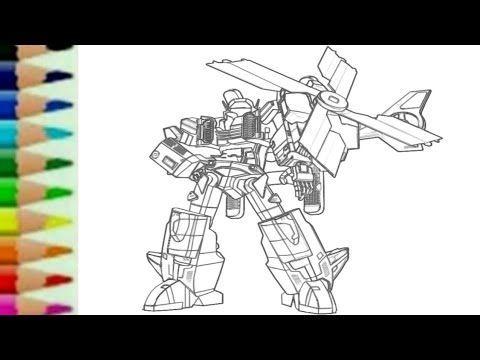 gambar mewarna ultraman zero berguna tobot y helicopter adventure transformers rtv cara menggambar