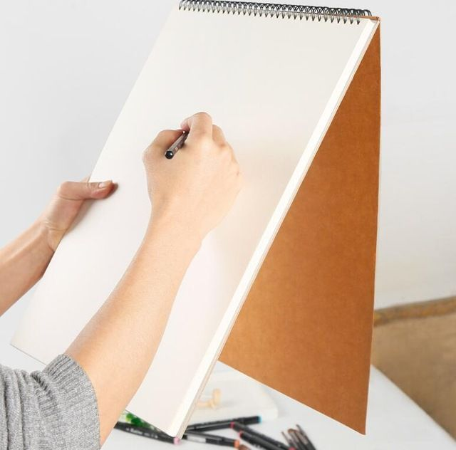 30 lembar profesional sederhana sketsa kumparan tebal kertas lembar a3 a4 a5 art sketsa buku lukisan