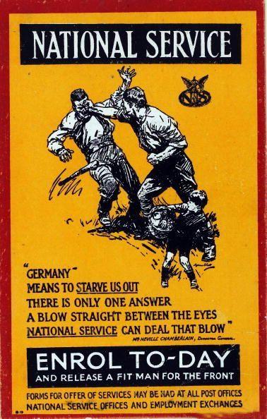 wwi british recruitment poster ca 1916 getty