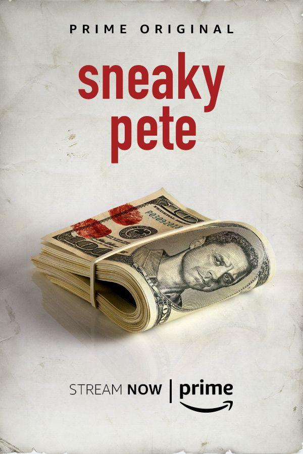 Pilot Poster Baik Sneaky Pete Tv Series 2015 Imdb