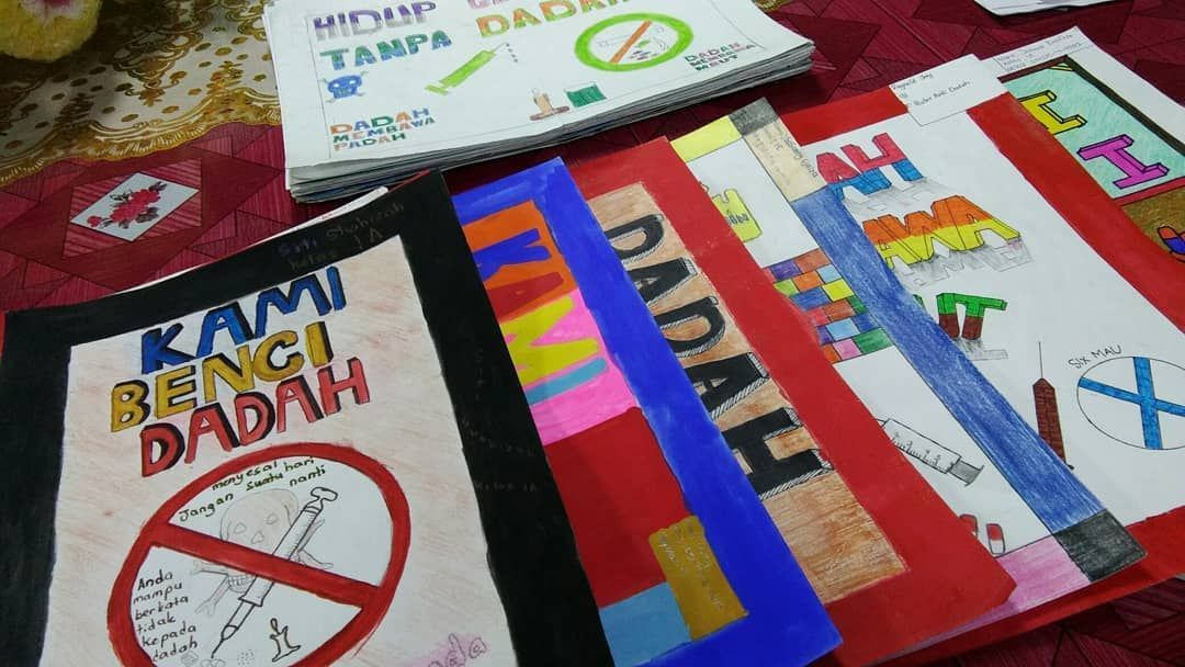 Senarai Poster Anti Dadah Paling Cantik Yang Berguna Dan Boleh Di