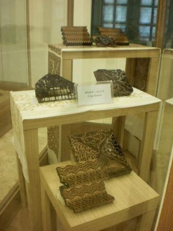 textile museum museum tekstil moulds for batik design