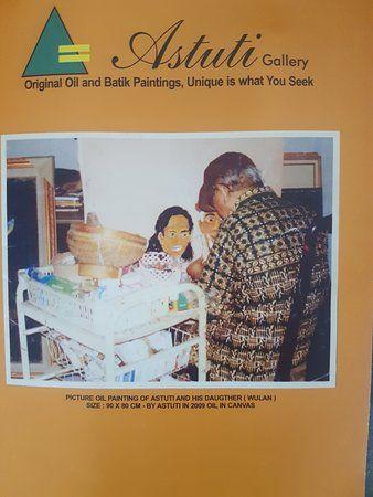 Poster Batik Berguna astuti Batik Painting Picture Of astuti Gallery Homestay Bantul