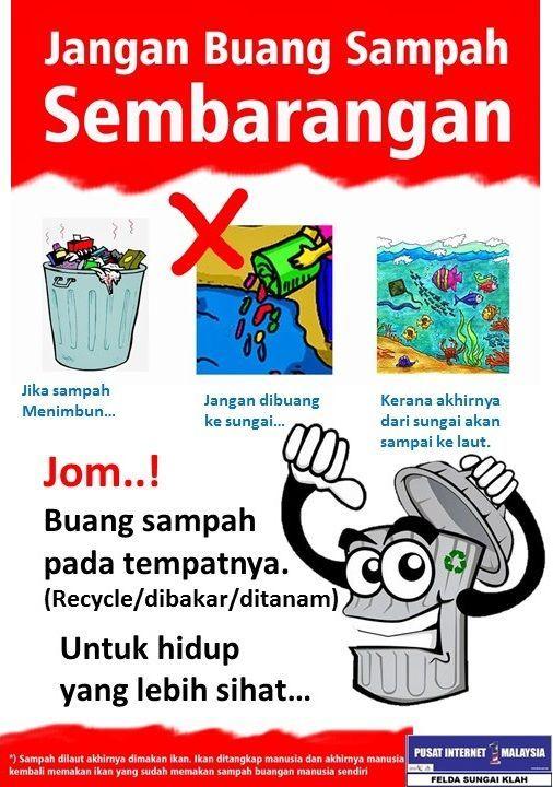 poster sampah