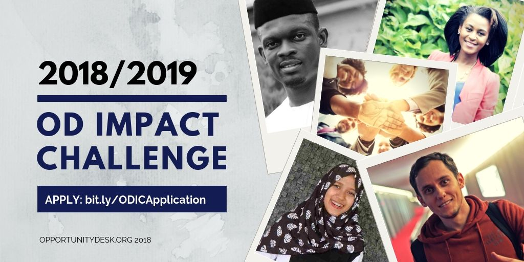 Poster Ceramah Power Apply for Opportunity Desk Od Impact Challenge 2018 2019 Win Cash