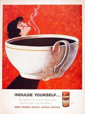 vintage coffee add