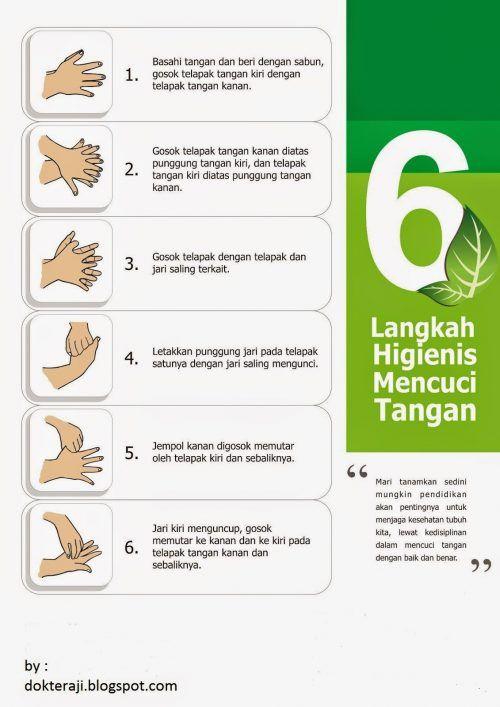 Poster Cuci Tangan Bernilai Poster Cuci Tangan A3 Rsm Ahmad Dahlan Kota Kediri