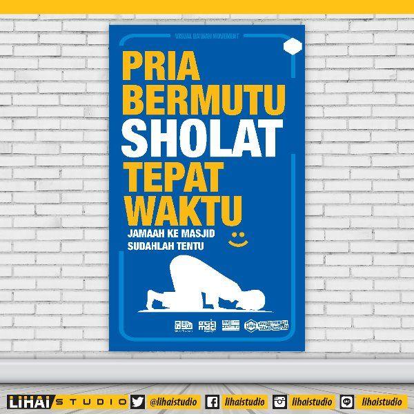 jual cetak spanduk banner poster dakwah islam muslim 14 di lapak lihai studio lihaistudio