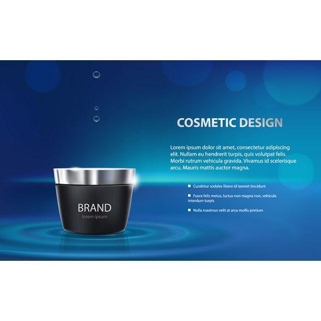 poster iklan pelembab kosmetik produk percuma png dan vektor