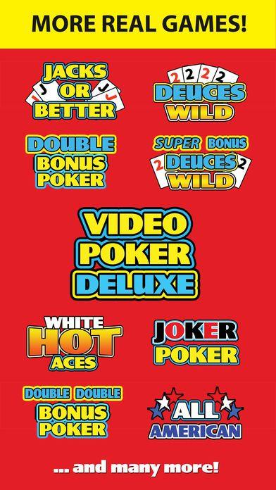 screenshot 7 for video poker deluxe casino