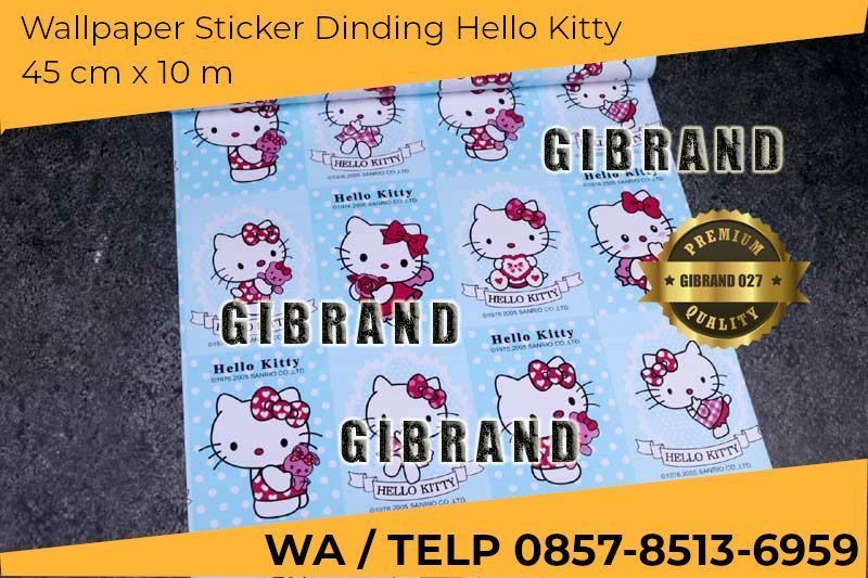 poster mewarna hello kitty menarik murah wall stickers hello kitty wallpaper stiker hello kitty wall