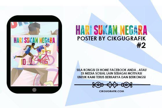 poster hari sukan negara 10 10 2015