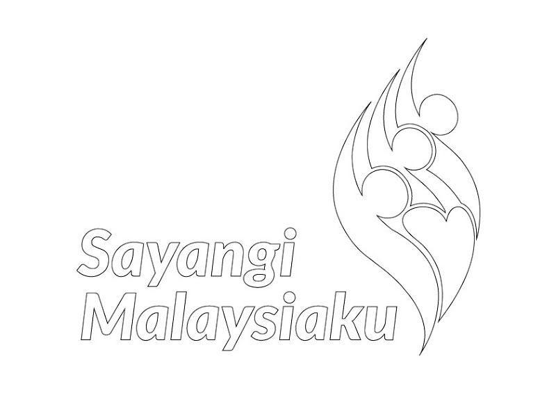 gambar mewarna kemerdekaan 2018 power logo sayangi malaysiaku merdeka tahun 2018 logo sayangi malaysiaku