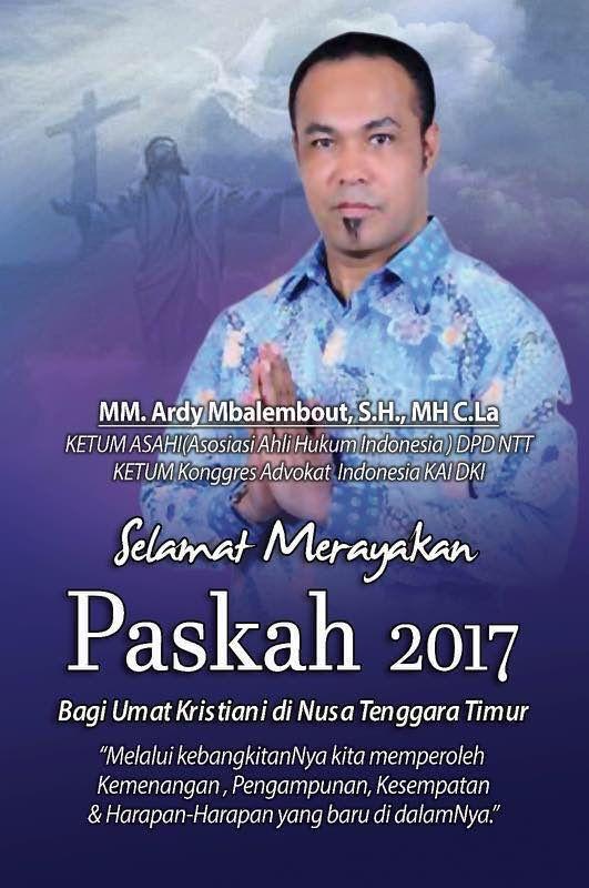 ardi mbalembout perayaan paskah sebagai refleksi umat kristiani
