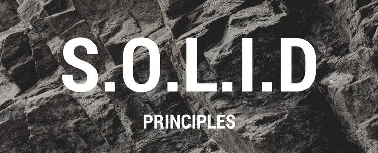 i ve found a very good article explaining the s o l i d principles if you are familiar with php you can read the original article here s o l i d the