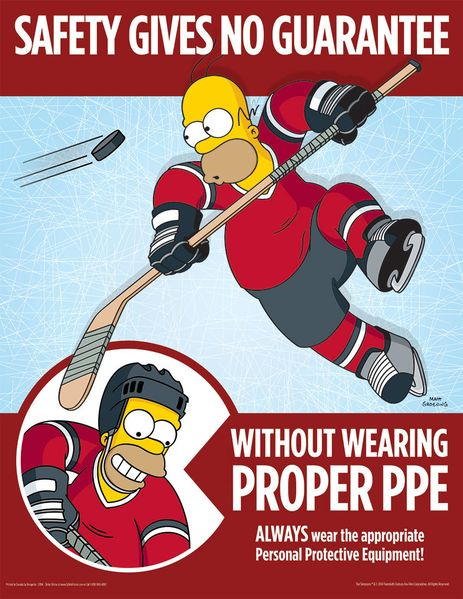 safety message safety posters safety training workplace safety homer simpson safety