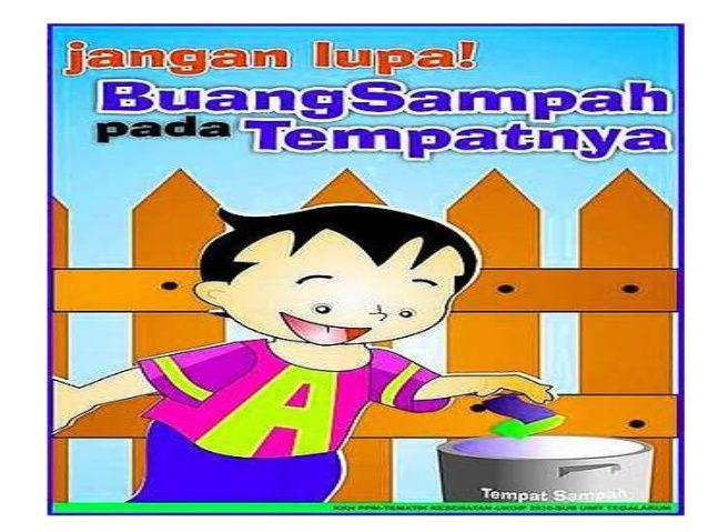 Dapatkan Poster Slogan Kebersihan Lingkungan Sekolah Yang