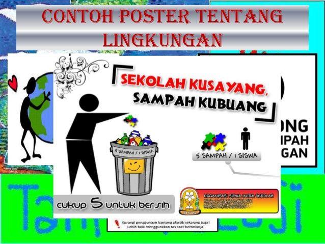 Poster Tentang Sampah Terbaik Lingkungan Bersih