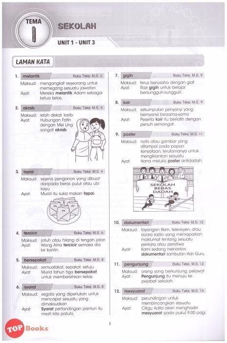 Teka Silang Kata Bahasa Melayu Tahun 6 Power Pelbagai Teka Silang Kata Bahasa Inggeris Sekolah Rendah Dan Jawapan