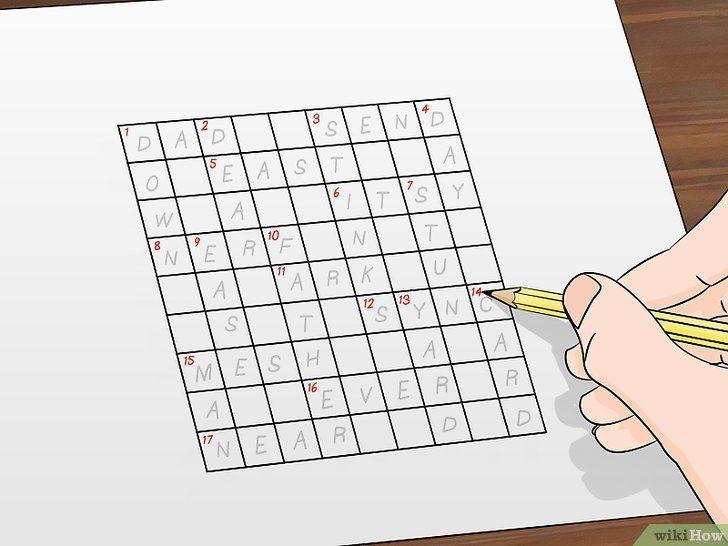 gambar berjudul make crossword puzzles step 4 imej cara membuat teka teki silang gambar pelbagai teka silang kata sejarah tingkatan 3