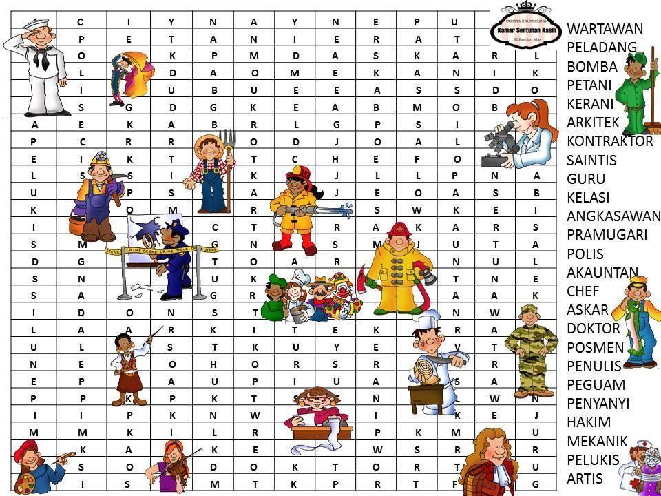 jawapan teka silang kata kemerdekaan bermanfaat bahan aktiviti kerjaya sekolah rendah the teacher counseling from