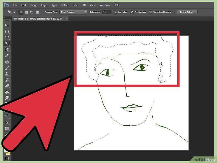 cara mewarna 2 gambar berjudul color and draw on adobe photoshop 6 step 29