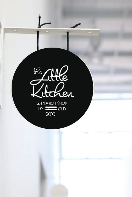 the little kitchen sandwich shop logo on behance