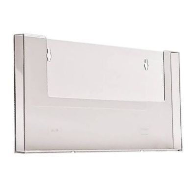 leaflet holder a4 wall mounted