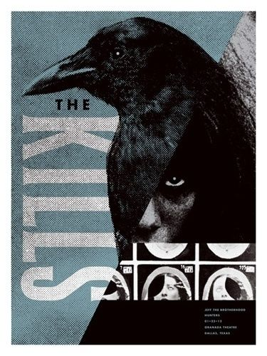 the kills concert poster by aesthetic apparatus new arrivals gallery poster