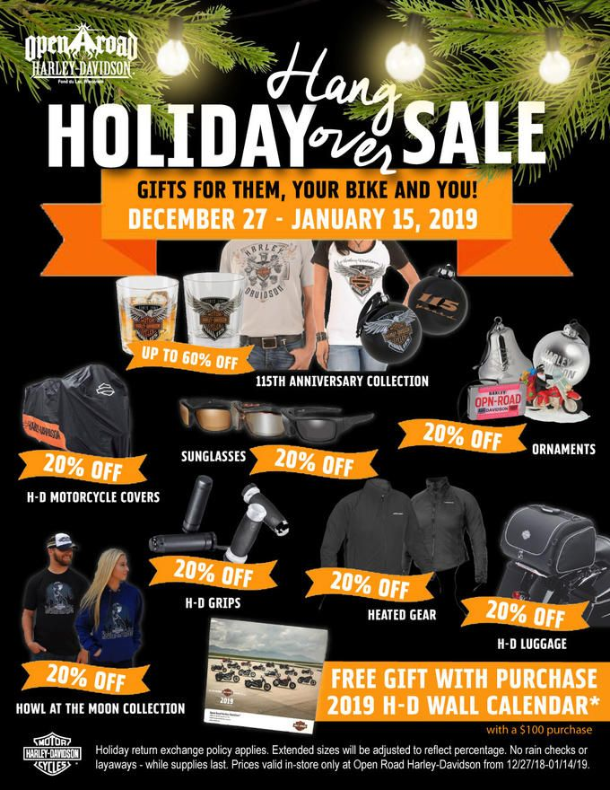 holiday hangover promotion