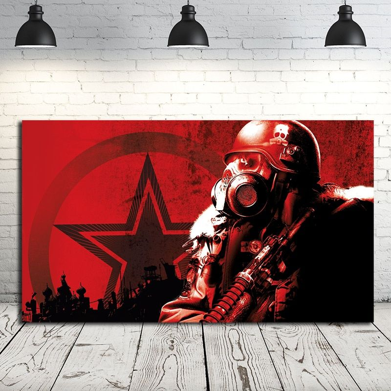 metro last light redux 2033 exodus game posters artworks prints on canvas painting wall art picture