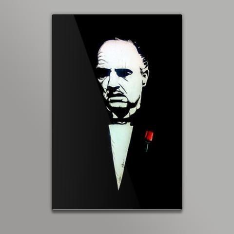 the godfather vivek aind metal prints artist vivek aind