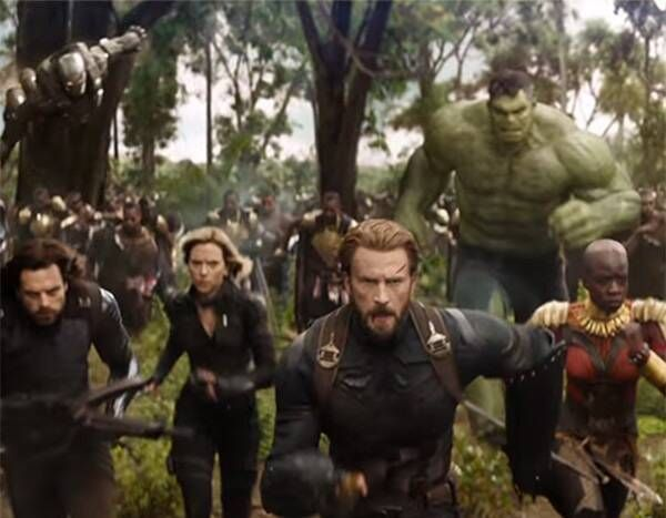 ranking the avengers infinity war makeovers from captain america s beard to blonde black widow e news