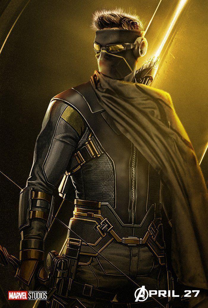 avengers infinity war character posters hawkeye ronin