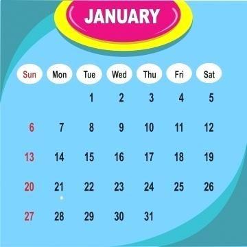 Background Poster Vector Hebat Poster Calendar Template
